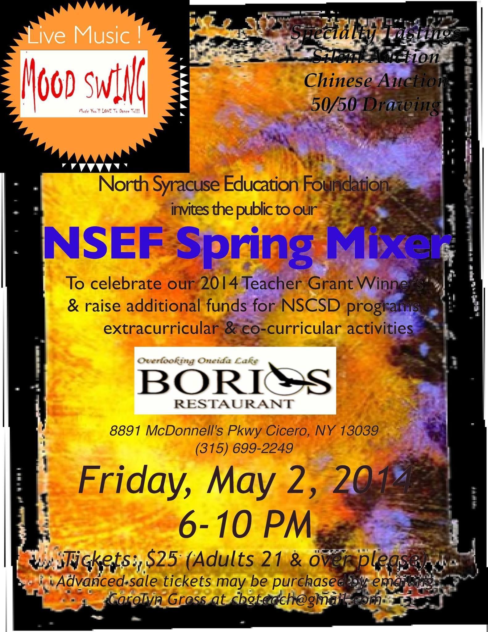 NSEF Poster